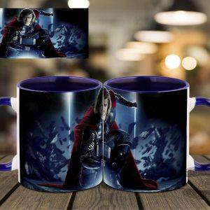 Синяя чашка