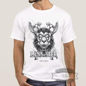 мужик в футболке дом Ланистеров