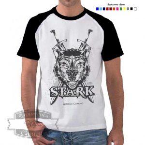 Мужик в футболке Stark