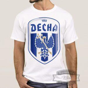 Мужик в футболке ФК Десна