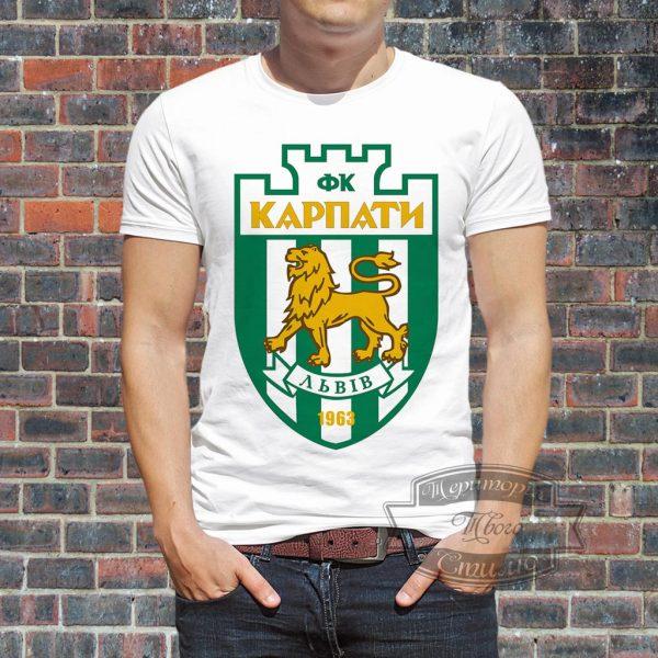 Мужик в футболке Карпаты