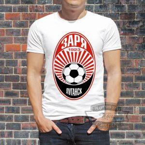 Мужик в футболке луганской зари