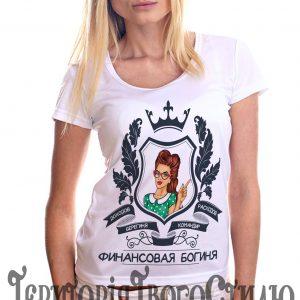 девушка на футболке