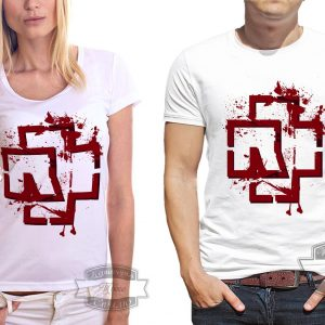 пара в футболках Рамштайн