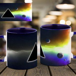 кружка с радугой Pink Floyd