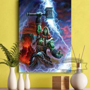 Картина Тралл на стене