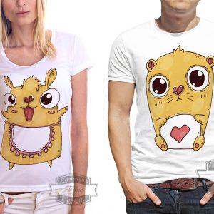 бурундуки на футболках
