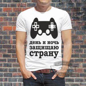 футболка геймеру