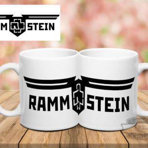Кружка с надписью Rammstein