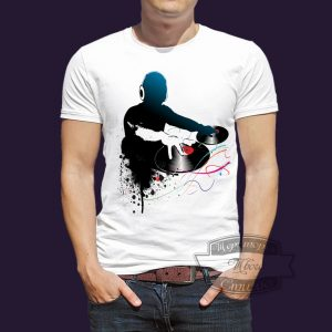 футболка диджею
