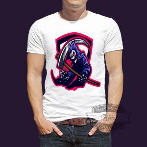 футболка гламурная смерть