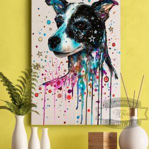 постер с псом