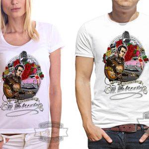 футболка с Тарасом Шевченко в стиле Элвиса