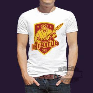 футболка с эмблемой фк ингулец