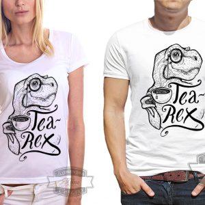 Футболка Tea Rex чайный рекс