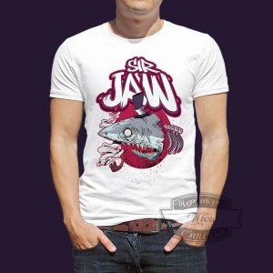 футболка sir jaw челюсти