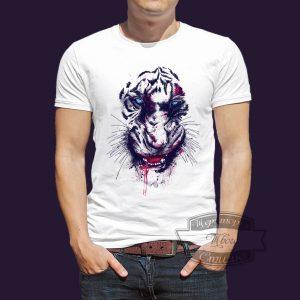 футболка тигр после драки