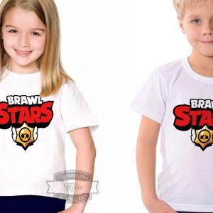 Футболка детская brawl stars