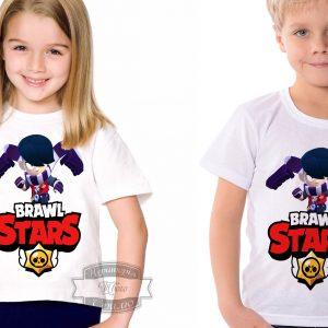 Футболка детская brawl stars Бравл Старс Эдгар Edgar