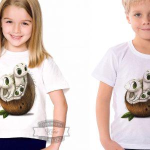 Футболка детская кокосовые тритоны