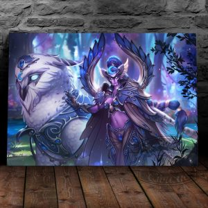 Постер на металле Майев Песнь Теней Heroes of the Storm