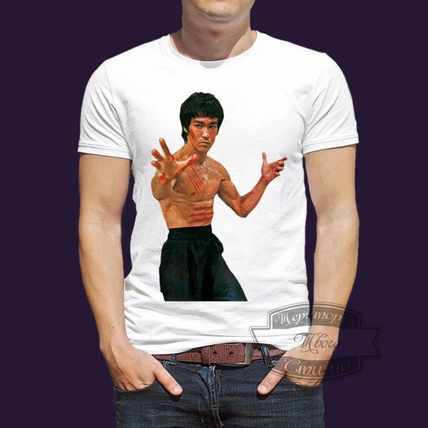 футболка с Брюсом Ли