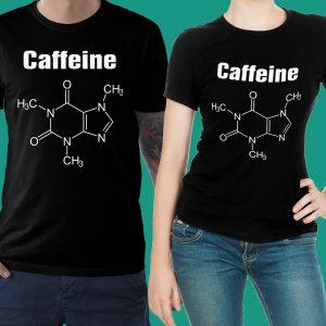 футболка черная кофеин