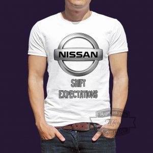 футболка Nissan Shift expectations превосходя ожидания