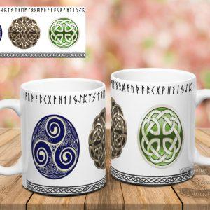 кружка кельтские символы